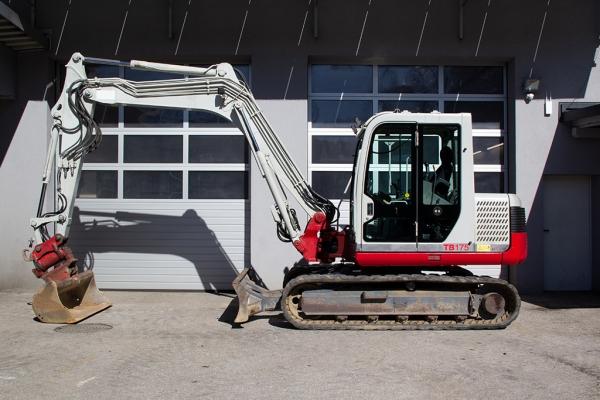Berger Baumaschinen Verleih im Bezirk Rohrbach - Minibagger Taceuchi
